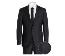 Anzug HUGE5/GENIUS3 Slim-Fit - schwarz