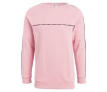Sweatshirt - rosa/ schwarz