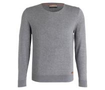Pullover DOMUR - grau meliert