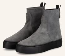 Plateau-Boots MEGHAN - GRAU