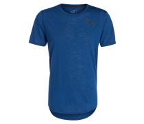 T-Shirt DRI-RELEASE NOVELTY - blau