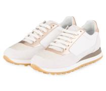Sneaker - creme/ roségold