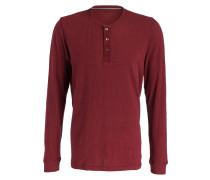 Loungeshirt - dunkelrot