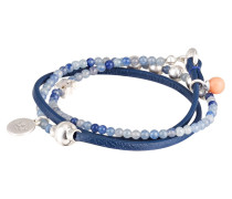Armband BE RELAXED - blau/ silber