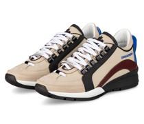 Sneaker 551 - BEIGE/ DUNKELROT/ SCHWARZ