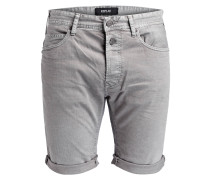 Jeans-Shorts - 110 light grey