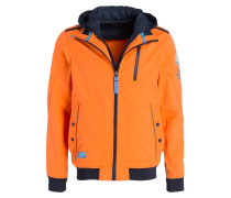 Softshell-Jacke - orange