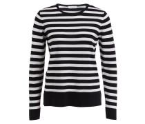 Pullover - navy/ weiss gestreift