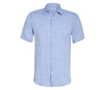 Halbarm-Hemd HOLIDAY Slim Fit aus Leinen
