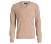 Pullover - sand meliert