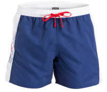 Badeshorts SEA WORLD - blau/ weiss