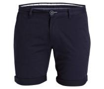 Chino-Shorts - blau