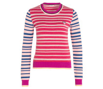 Pullover - fuchsia/ rosa/ blau
