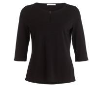 Shirt EPINA mit 3/4-Arm - schwarz