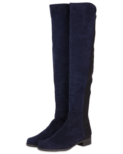 Empfehlen Günstig Online Stuart Weitzman Damen Overknee-Stiefel 5050 - BLAU Neue Ankunft Art Und Weise Sast Zum Verkauf Finish Auslass Truhe igb9caecr