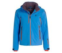 Skijacke VANQYSH - blau/ orange