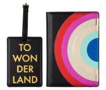 Set: Passhülle und Kofferanhänger TO WONDERLAND