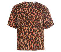 T-Shirt GLORIA - beige/ orange/ grün