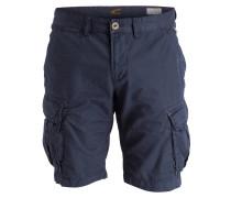 Cargo-Shorts Straight-Fit - blau