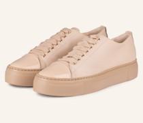Plateau-Sneaker MOLLIE - NUDE