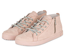 Hightop-Sneaker - rosa