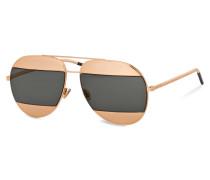 Sonnenbrille DIOR SPLIT - grün
