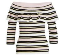 Pullover - rosa/ schwarz/ gelb