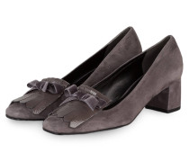 College-Pumps ISABEL - grau