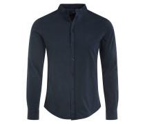 Jerseyhemd Regular Fit mit Stehkragen