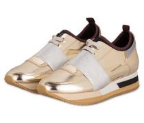 Plateau-Sneaker FOLIE - gold