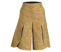 Jacquard-Shorts - beige