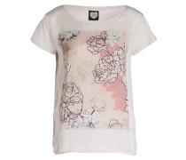 T-Shirt - rosé meliert/ rosa