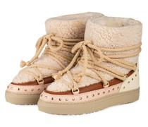 Boots - BEIGE/ COGNAC/ HELLROSA