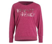 Sweatshirt DALANA mit Metallic-Print