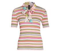 Strickshirt - rosé/ grün/ hellblau