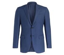 Cashmere-Sakko Slim-Fit - blau