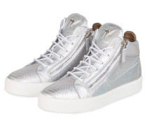 Hightop-Sneaker KRISS - SILBER