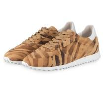 Sneaker CLUB - CAMEL/ WEISS