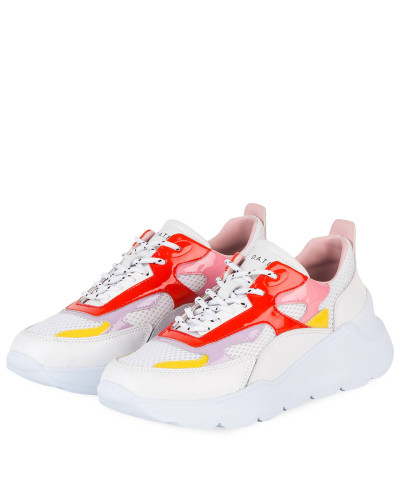 Plateau-Sneaker FUGA PATENT - WEISS
