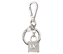 Schlüssel- und Taschenahänger - grau