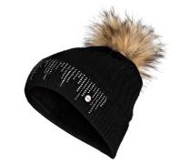 Mütze MARIGOLD mit Schmucksteinbesatz