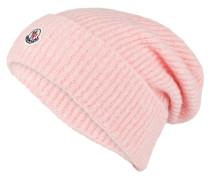 Mütze mit Alpaka-Anteil - rosa