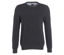 Pullover Casual modern fit - anthrazit
