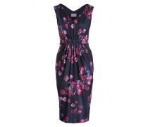 Kleid JOVIE - dunkelblau/ navy/ pink