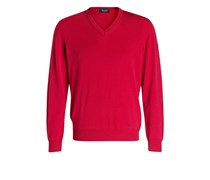 Schurwoll-Pullover - pink
