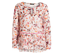 Bluse - offwhite/ rosa/ orange
