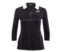 Poloshirt ESTHER - schwarz/ weiss