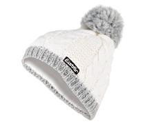 Mütze KIANA - weiss/ grau