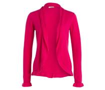 Cashmere-Strickhülle - pink