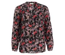Bluse EDGY - schwarz/ rosa
